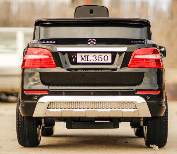 Masinuta electrica Mercedes ML350 2x25W STANDARD 12V #Negru 4