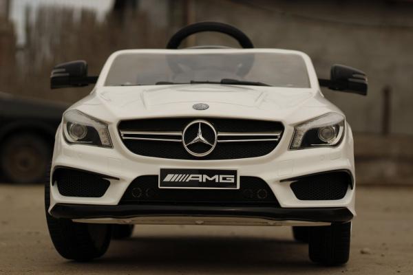 Masinuta electrica Mercedes CLA45 STANDARD 2x 25W 12V #ALB 1
