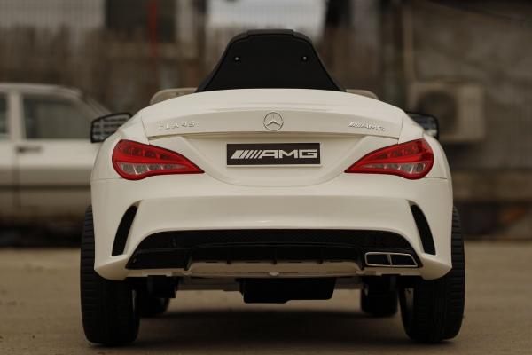 Masinuta electrica Mercedes CLA45 STANDARD 2x 25W 12V #ALB 3