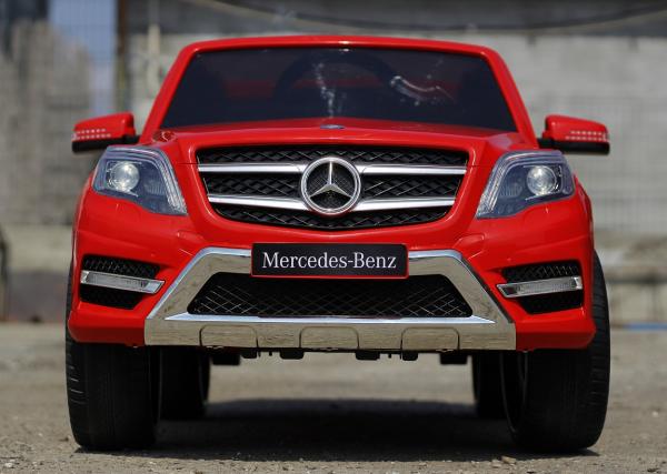 Masinuta electrica Mercedes GLK350 PREMIUM 2x35W 2X6V #Rosu 1