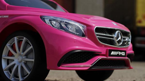 Kinderauto Mercedes S63 12V PREMIUM #Roz 5