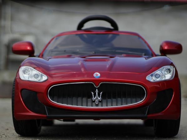 Masinuta electrica Maserati Kids CU ROTI MOI 2x 35W 12V #Rosu 1