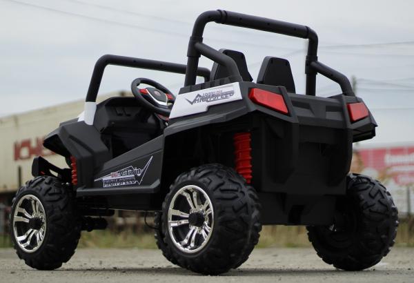 UTV electric pentru copii Golf-Kart 4x45W 2x12V PREMIUM #ALB 4