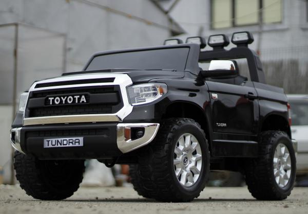Masinuta electrica Toyota Tundra 2x45W PREMIUM #Negru 2
