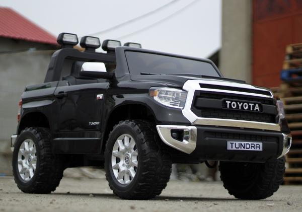 Masinuta electrica Toyota Tundra 2x45W PREMIUM #Negru 3