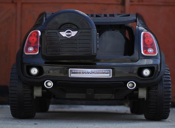 Masinuta electrica Mini Comberman STANDARD cu 2 locuri #Negru 3
