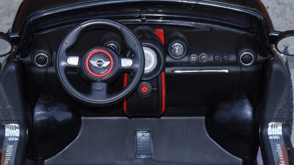 Masinuta electrica Mini Comberman STANDARD cu 2 locuri #Negru 5
