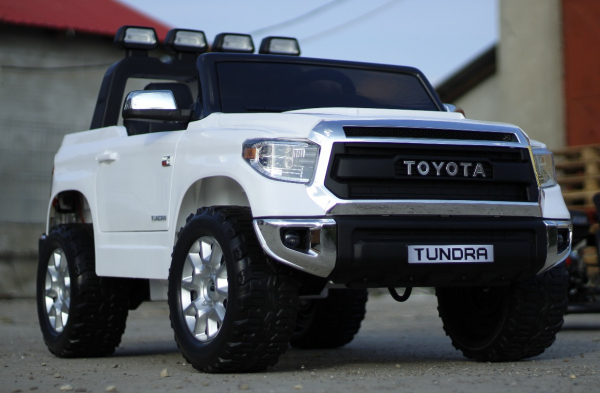 Masinuta electrica Toyota Tundra 2x45W PREMIUM #Alb 2