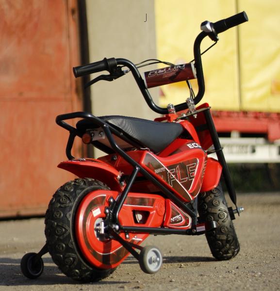 Mini Motocicleta electrica pentru copii NITRO ECO Flee 250W #Rosu 3