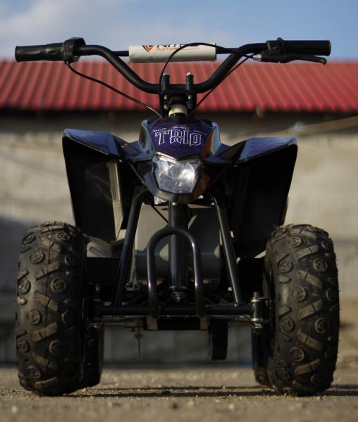 Mini ATV electric Pentru copii NITRO Eco Trio Quad 350W 24V #Albastru 1