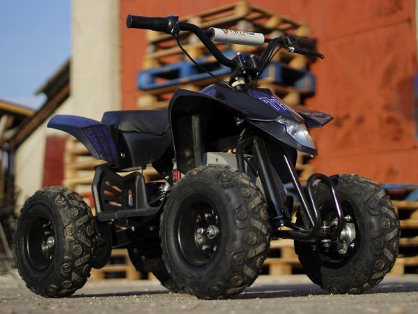 Mini ATV electric Pentru copii NITRO Eco Trio Quad 350W 24V #Albastru 2