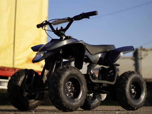 Mini ATV electric Pentru copii NITRO Eco Trio Quad 350W 24V #Albastru 4