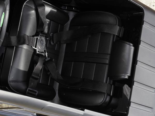 Masinuta electrica Land Rover Defender 2x35W 12V cu ROTI MOI #Negru 5