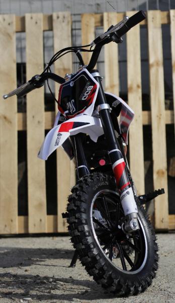 Mini Motocicleta Eco Ghepard 500W 24V #Rosu 1