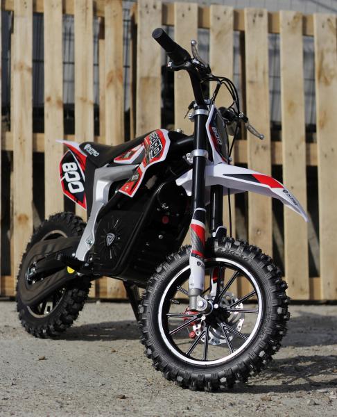 Mini Motocicleta Eco Ghepard 500W 24V #Rosu 2