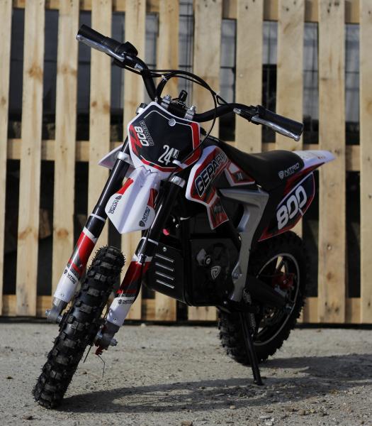 Mini Motocicleta Eco Ghepard 500W 24V #Rosu 3