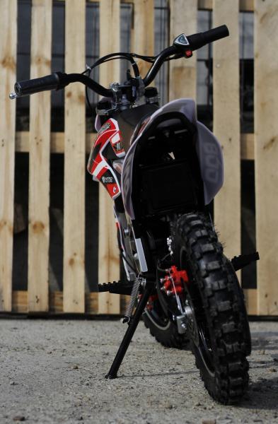 Mini Motocicleta Eco Ghepard 500W 24V #Rosu 4