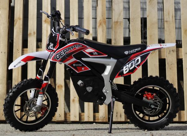 Mini Motocicleta Eco Ghepard 500W 24V #Rosu 5