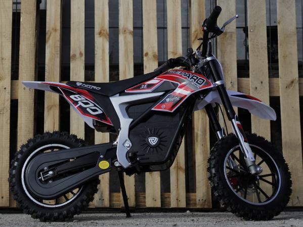 Mini Motocicleta Eco Ghepard 500W 24V #Rosu 6
