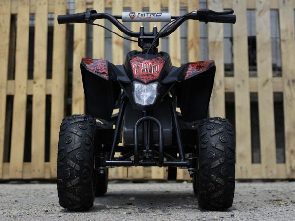 Mini ATV electric Pentru copii NITRO Eco Trio Quad 350W 24V #Rosu 1
