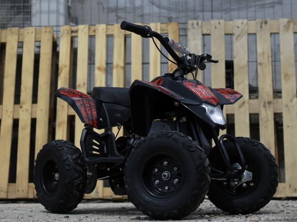 Mini ATV electric Pentru copii NITRO Eco Trio Quad 350W 24V #Rosu 2