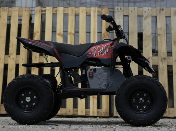 Mini ATV electric Pentru copii NITRO Eco Trio Quad 350W 24V #Rosu 3
