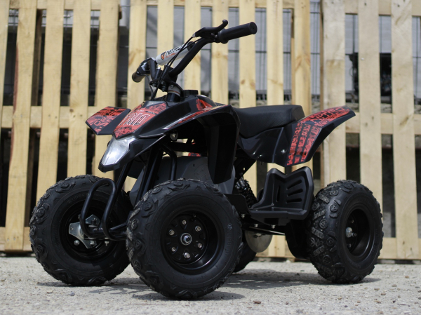 Mini ATV electric Pentru copii NITRO Eco Trio Quad 350W 24V #Rosu 6