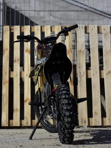 Motocicleta electrica Eco Tiger 1000W 36V 12/10 #Albastru 3