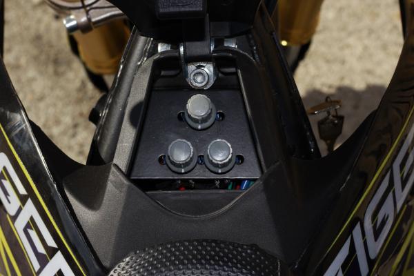 Motocicleta electrica Eco Tiger 1000W 36V 12/10 #Albastru 5