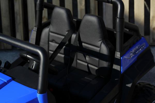 UTV electric pentru copii Golf-Kart 4x4 180W  PREMIUM #Albastru 5