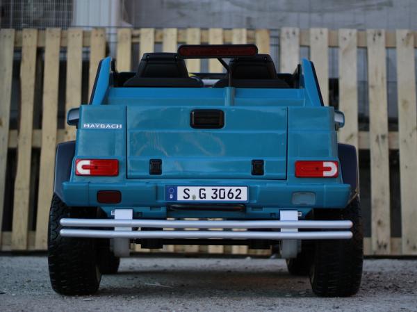 Masinuta electrica Mercedes G650 180W MAYBACH DELUXE #Albastru 4