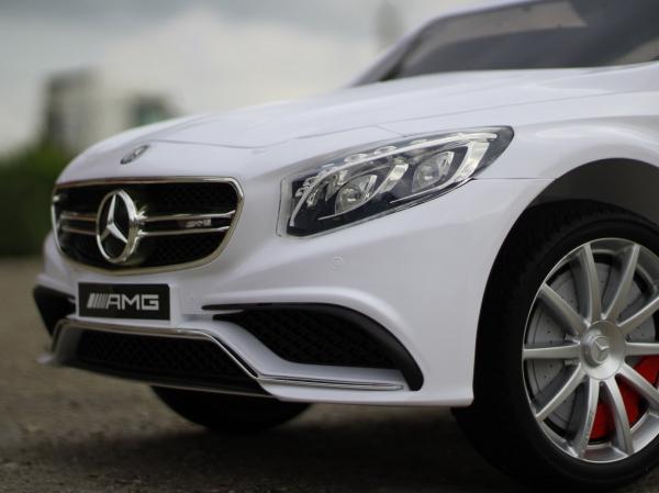 Masinuta electrica pentru copii 2-6 ani, Mercedes S63 4