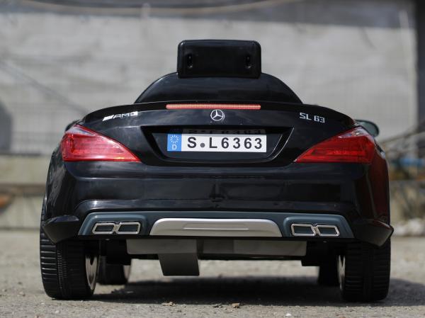 Masinuta electrica Mercedes SL63 AMG STANDARD 12V #Negru 3