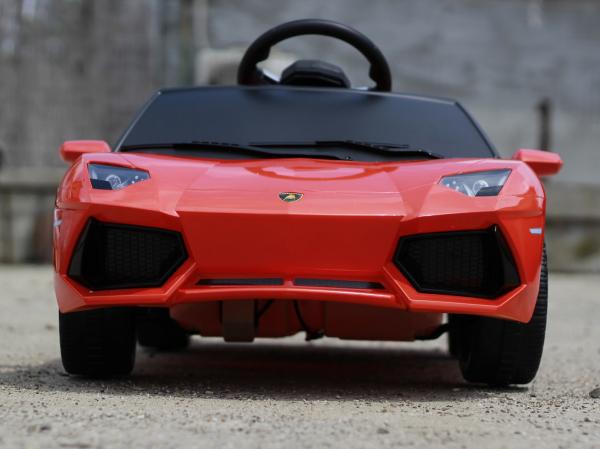 Masinuta electrica Lamborghini Aventador LP 700-4 STANDARD #Portocaliu 3