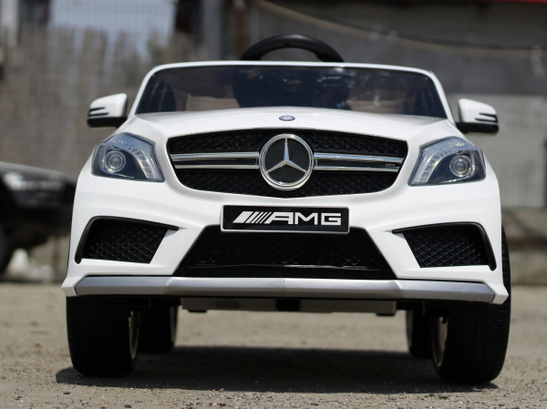 Masinuta electrica Mercedes A45 AMG PREMIUM 12V #ALB 1