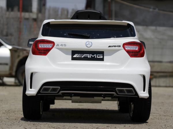 Masinuta electrica Mercedes A45 AMG PREMIUM 12V #ALB 3