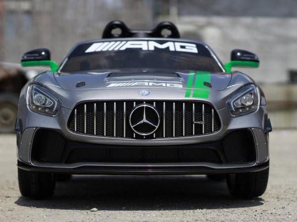 Masinuta electrica copii 2-5 ani Mercedes GT-R gri [1]