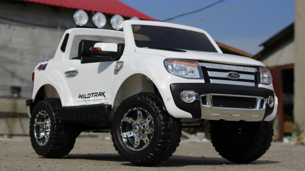 Masinuta electrica Ford Ranger F150 STANDARD 2x35W 12V #ALB 1