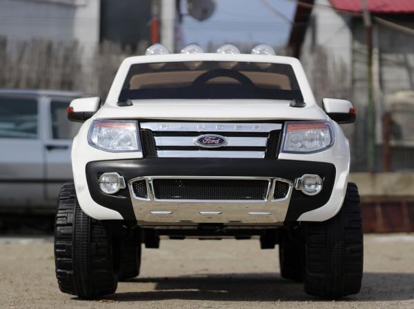 Masinuta electrica Ford Ranger F150 STANDARD 2x35W 12V #ALB 2