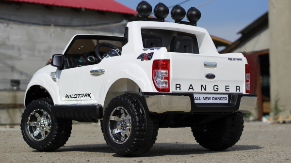 Masinuta electrica Ford Ranger F150 STANDARD 2x35W 12V #ALB 4
