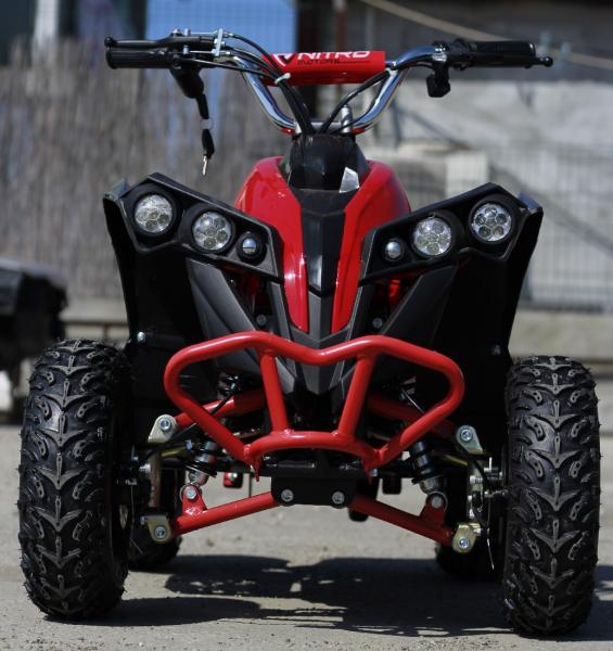 ATV electric NITRO Eco Avenger 1000W 48V 6 inch #Rosu 1
