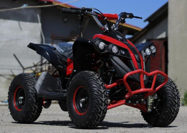 ATV electric NITRO Eco Avenger 1000W 48V 6 inch #Rosu 2