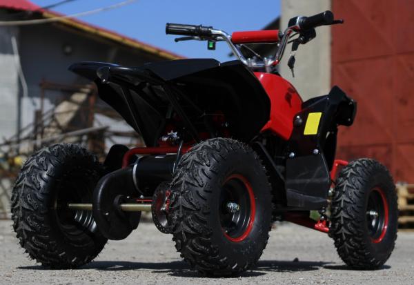 ATV electric NITRO Eco Avenger 1000W 48V 6 inch #Rosu 4