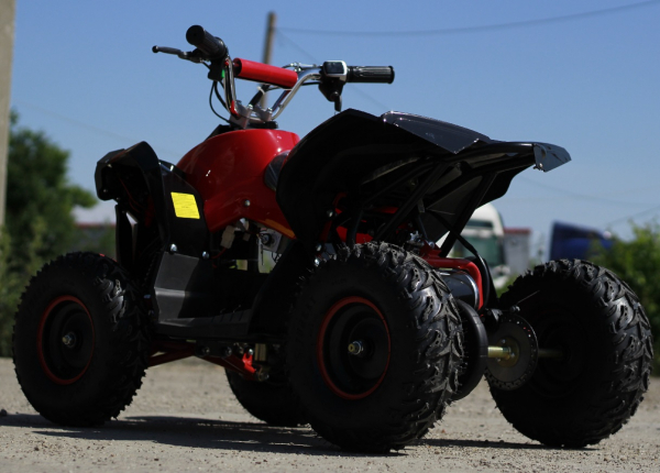ATV electric NITRO Eco Avenger 1000W 48V 6 inch #Rosu 6