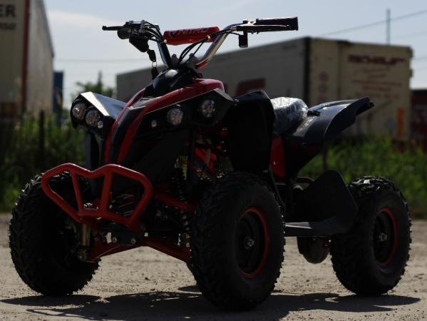 ATV electric NITRO Eco Avenger 1000W 48V 6 inch #Rosu 7
