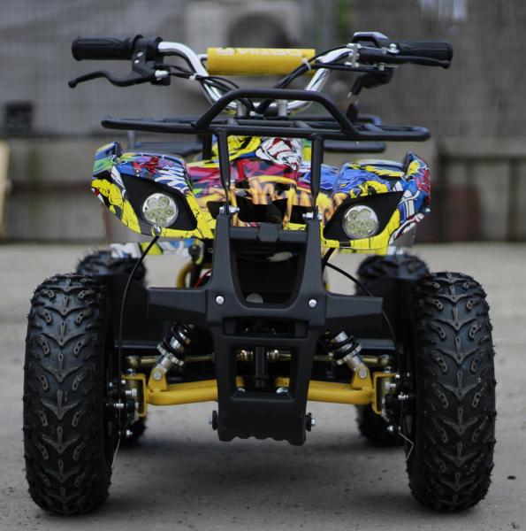 Mini ATV electric pentru copii NITRO Torino Quad 1000W 48V #Galben 1