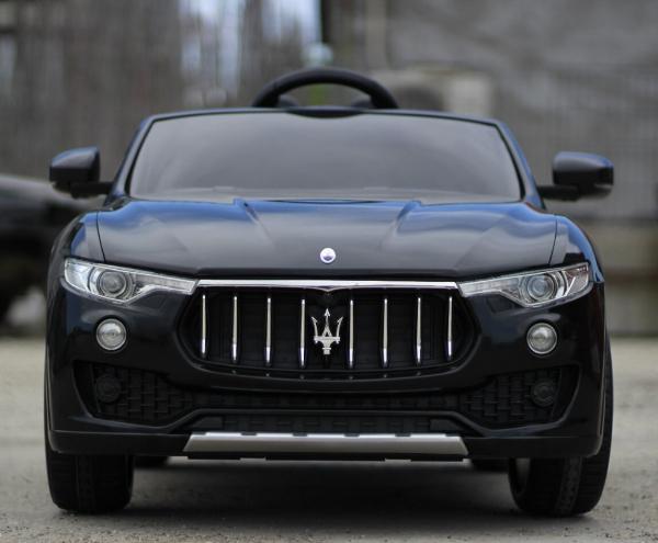 Masinuta electrica copii Maserati Levante negru 1