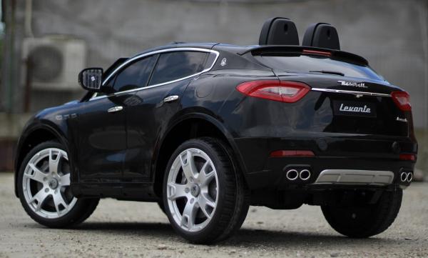 Masinuta electrica copii Maserati Levante negru 4
