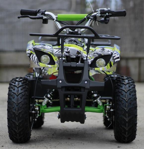 Mini ATV electric pentru copii NITRO Torino Quad 1000W 48V #Verde 1