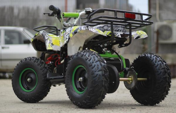 Mini ATV electric pentru copii NITRO Torino Quad 1000W 48V #Verde 4